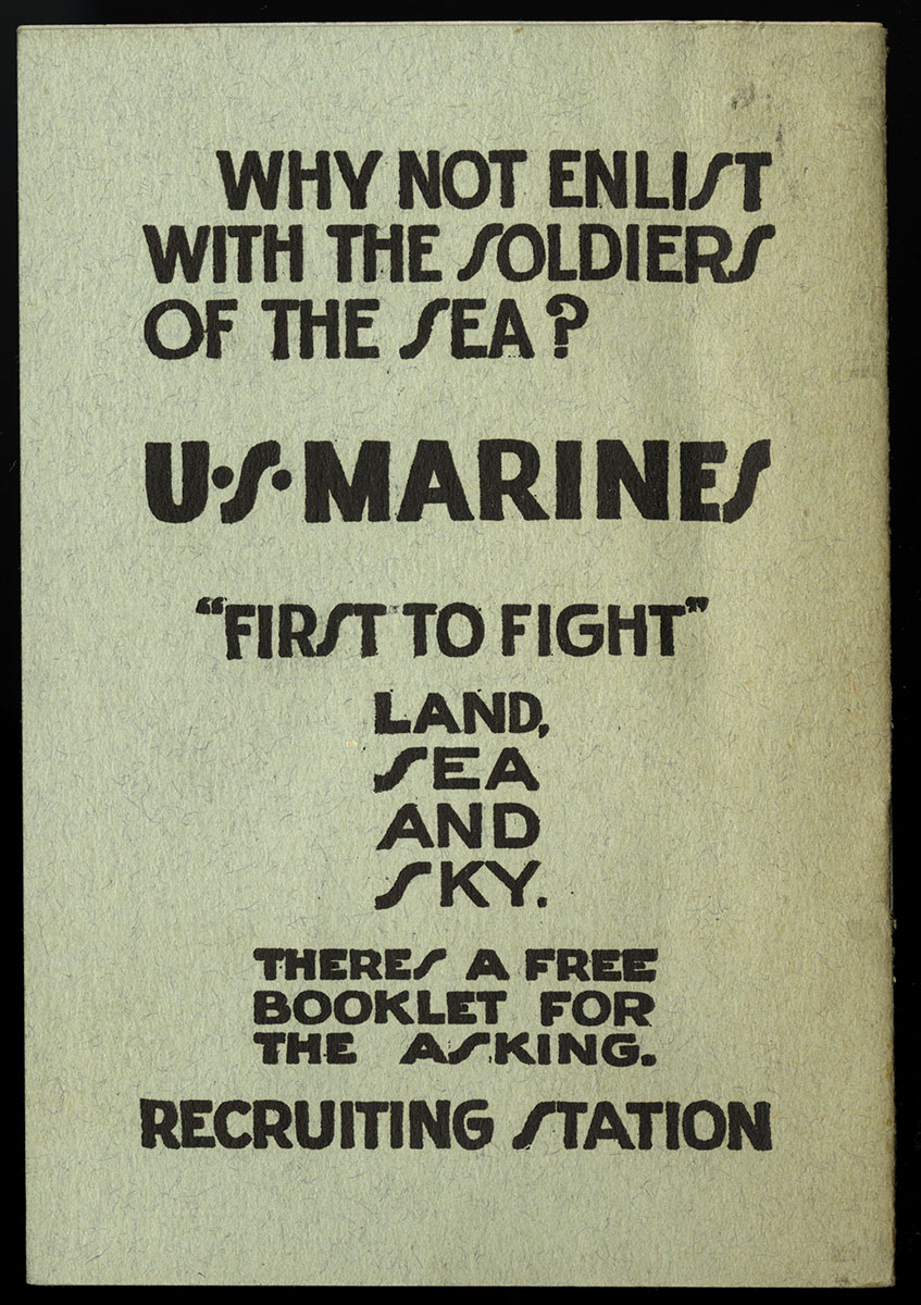 United States Marine Corps, Story of the Shoulder Strap (New York, 1917).