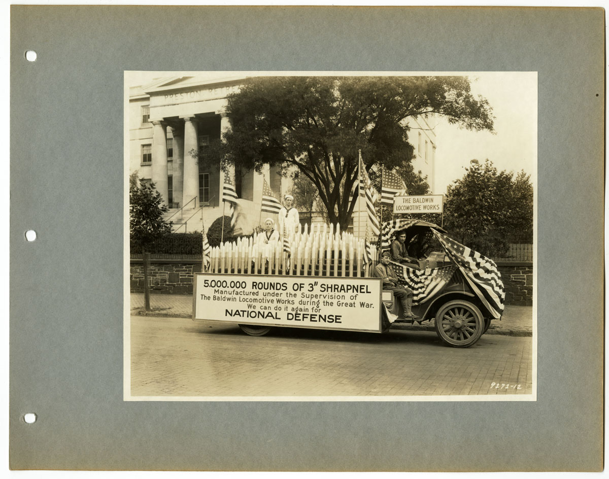 [National Defense Day Parade, Philadelphia, September 12, 1924]. Gelatin silver photograph.